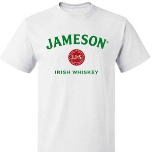 Other - John Jameson Irish Whiskey Logo Men's White tshirt